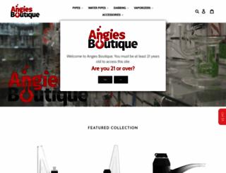 angiesboutiques.com screenshot