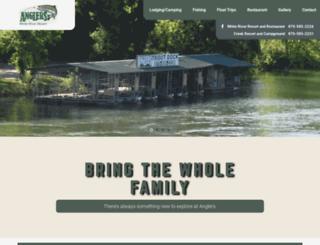 anglerswhiteriver.com screenshot