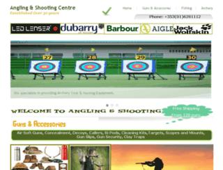 anglingandshooting.com screenshot
