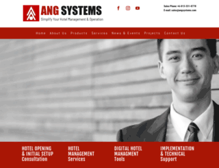 angsystems.com screenshot