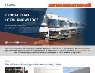 anham.com screenshot