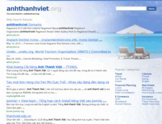 anhthanhviet.org screenshot