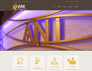 anibanquethall.com screenshot