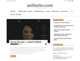 anilnetto.com screenshot