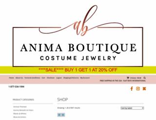 animaboutique.com screenshot