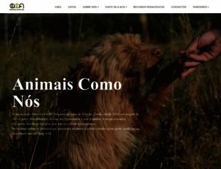 animaiscomonos.org screenshot