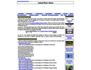 animal.memozee.com screenshot