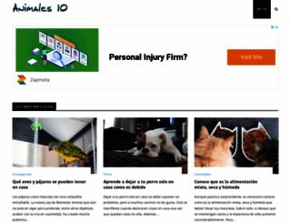 animales10.com screenshot