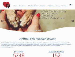 animalfriendswestmoreland.org screenshot