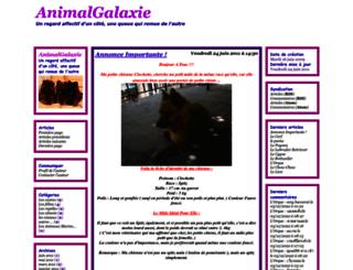 animalgalaxie.cowblog.fr screenshot