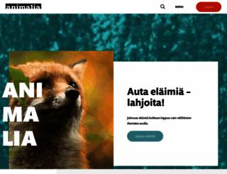 animalia.fi screenshot