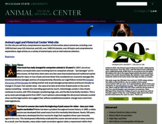 animallaw.info screenshot