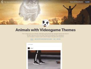 animalmusicthemes.tumblr.com screenshot