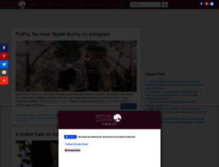 animals-zone.com screenshot