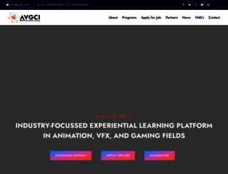 animationhyderabad.com screenshot