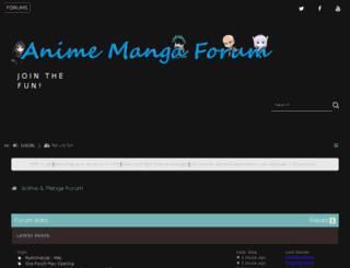animemangaforum.com screenshot