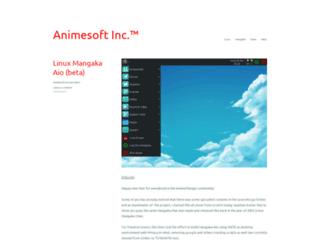 animesoft.wordpress.com screenshot