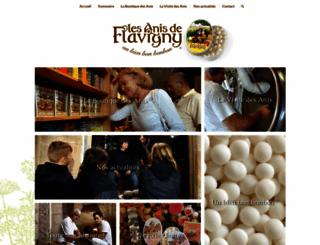 anis-flavigny.com screenshot