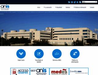 anisalud.com screenshot