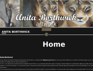 anitaborthwick.co.za screenshot