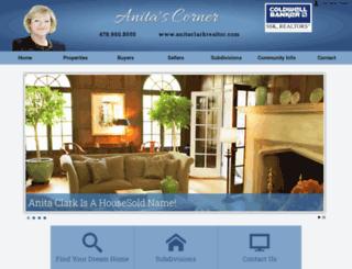 anitaclarkrealtor.com screenshot