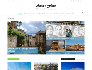 anitasfeast.com screenshot