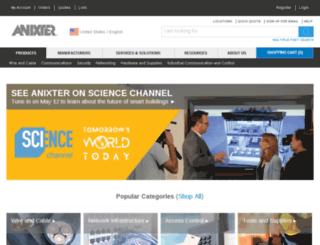 anixter.com screenshot
