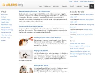 anjing.org screenshot