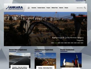 ankarainsaat.net screenshot