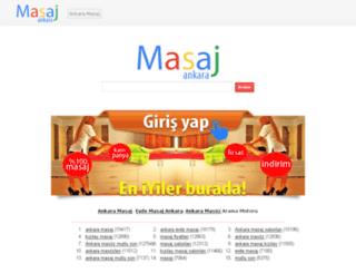 ankaraspamasaj.masajevde.com screenshot