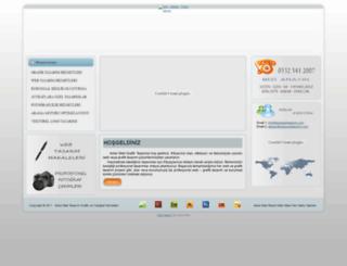 ankawebtasarim.com screenshot