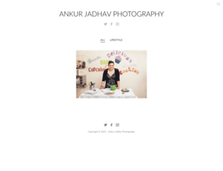 ankurj.client-gallery.com screenshot