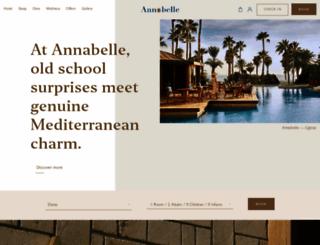 annabelle.com.cy screenshot