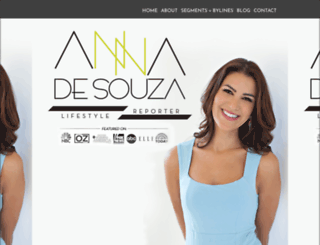 annadesouza.com screenshot