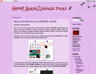 annaqawina.blogspot.com screenshot