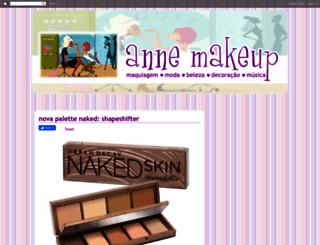 annemakeup.com.br screenshot