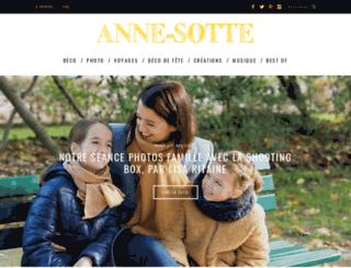 annesotte.com screenshot
