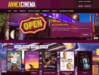 annexcinema.nl screenshot