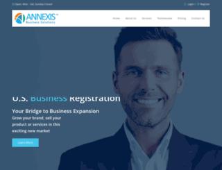 annexis.net screenshot