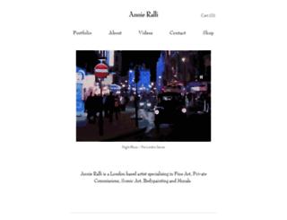 annieralli.com screenshot
