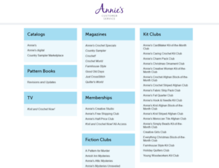 anniescustomerservice.com screenshot
