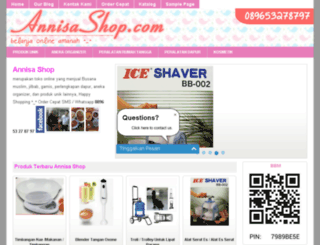 annisashop.com screenshot