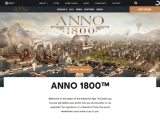 anno-game.ubi.com screenshot