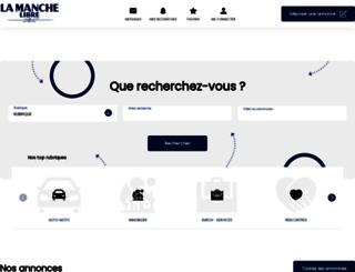 annonces.lamanchelibre.fr screenshot