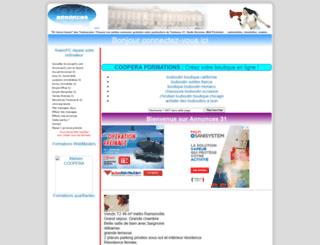 annonces31.com screenshot