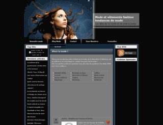 annuairedelamode.net screenshot