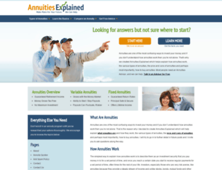 annuities-explained.net screenshot