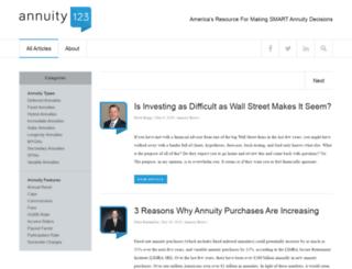 annuity123.com screenshot