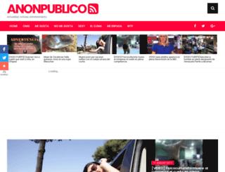 anonpublico.com screenshot