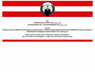 anonymous-austria.com screenshot